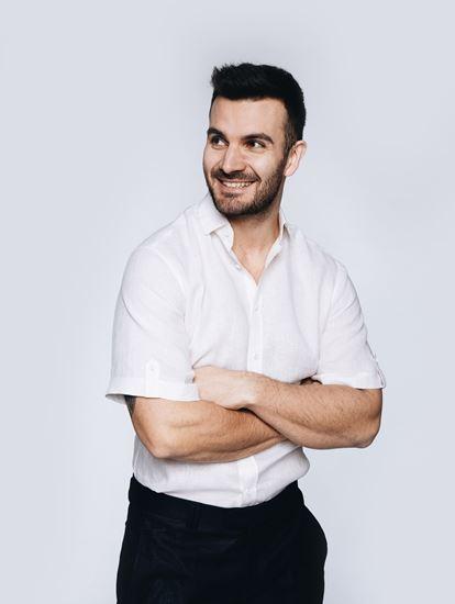 Obrázek z Lněná košile s krátkým rukávem