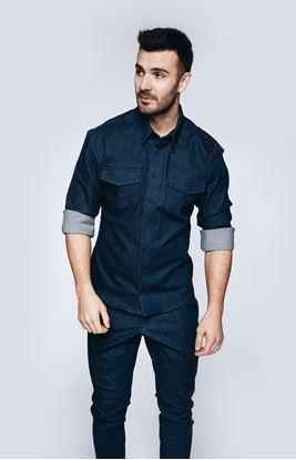Obrázek Košile z elastické rifloviny