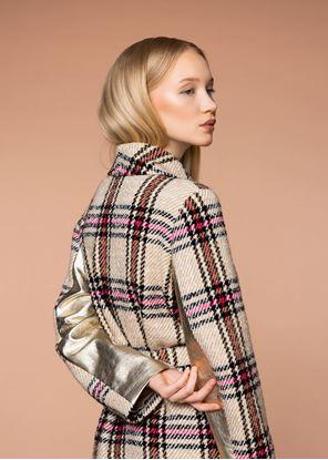Obrázek Krátký vlněný kabát