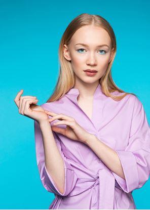 Obrázek Košile s vazačkou lila