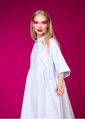 Obrázek Šaty s límečkem