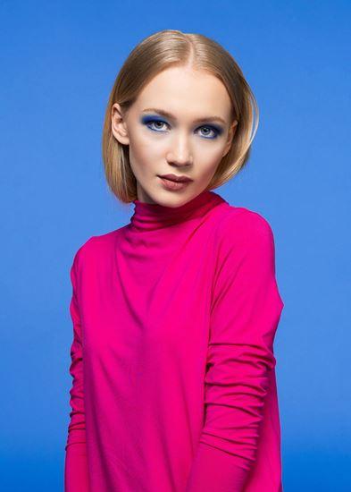 Obrázek z Rolákové šaty růžové