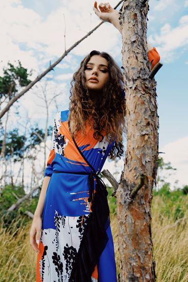 Obrázek z Zavinovací šaty Vistarie