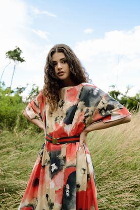 Obrázek Oversize šaty Louka