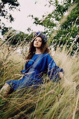 Obrázek Lněné šaty Královna